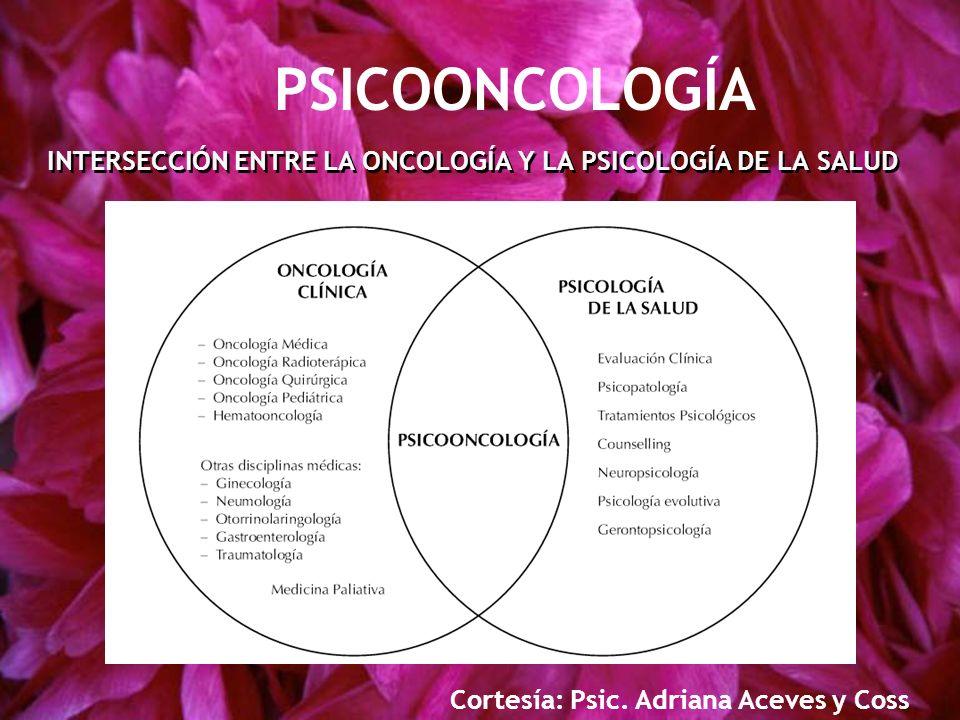 INTERSECCIÓN ENTRE LA ONCOLOGÍA Y LA PSICOLOGÍA DE LA SALUD