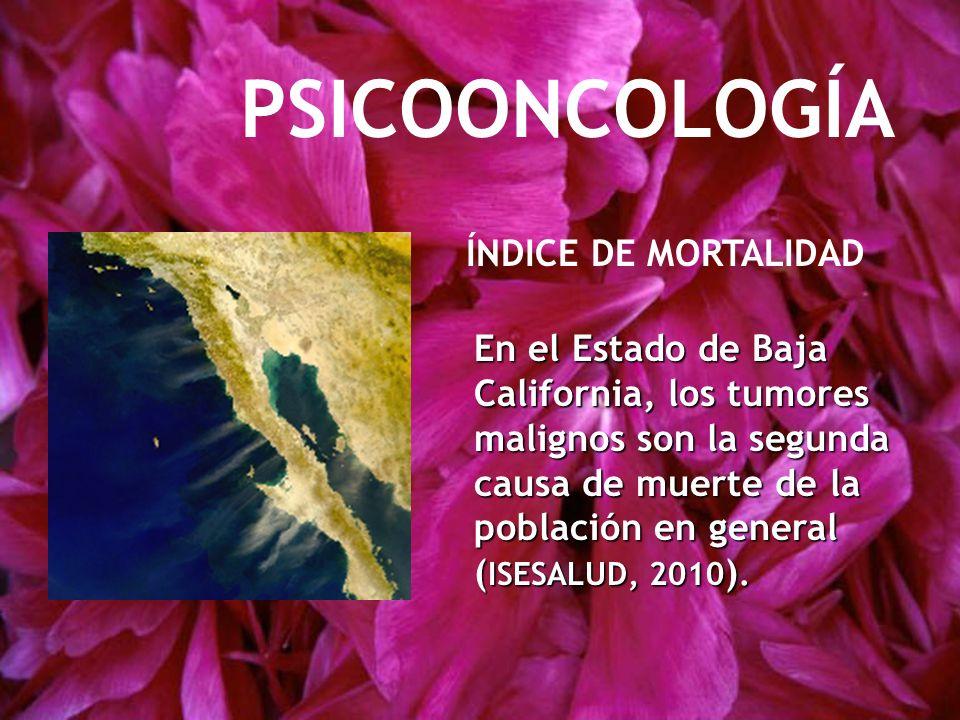 PSICOONCOLOGÍA ÍNDICE DE MORTALIDAD