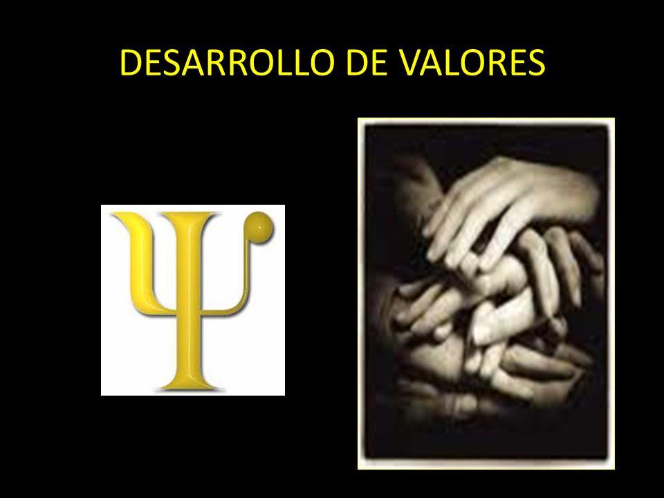 DESARROLLO DE VALORES