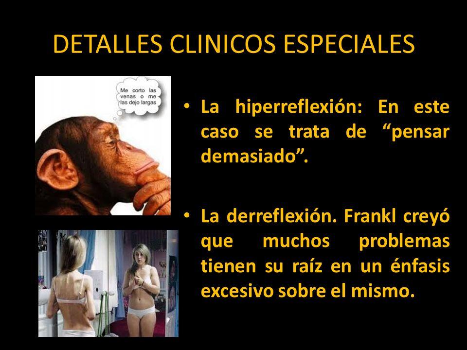 DETALLES CLINICOS ESPECIALES