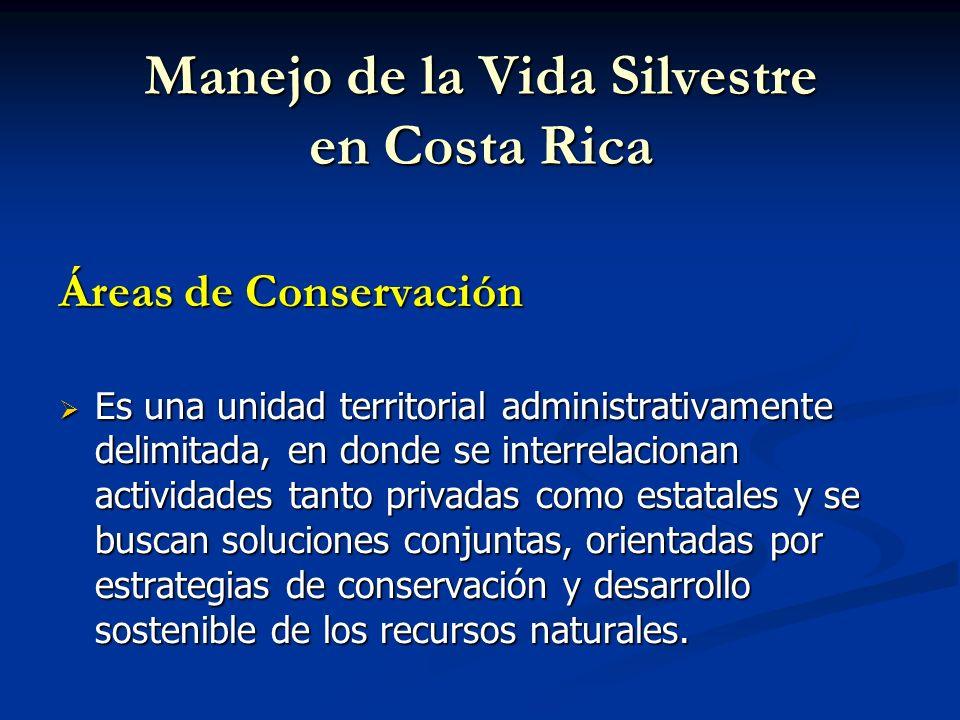Manejo de la Vida Silvestre en Costa Rica