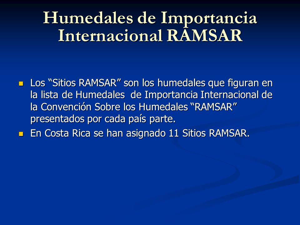Humedales de Importancia Internacional RAMSAR