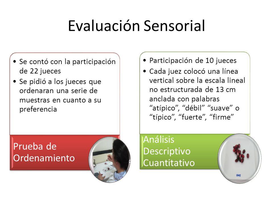 Evaluación Sensorial Análisis Descriptivo Cuantitativo