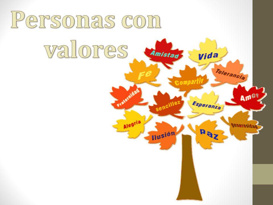 Personas con valores