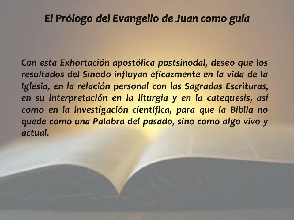 El Prólogo del Evangelio de Juan como guía