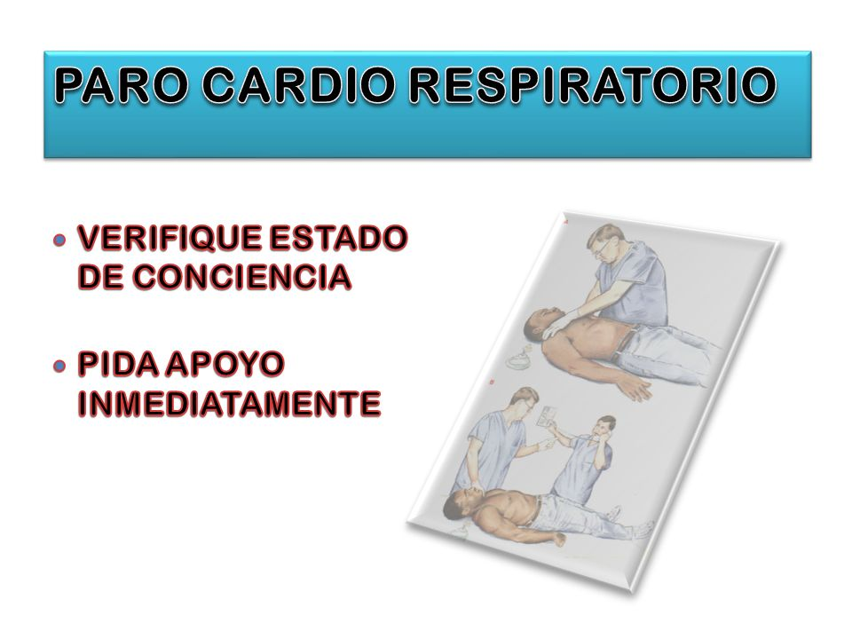 PARO CARDIO RESPIRATORIO