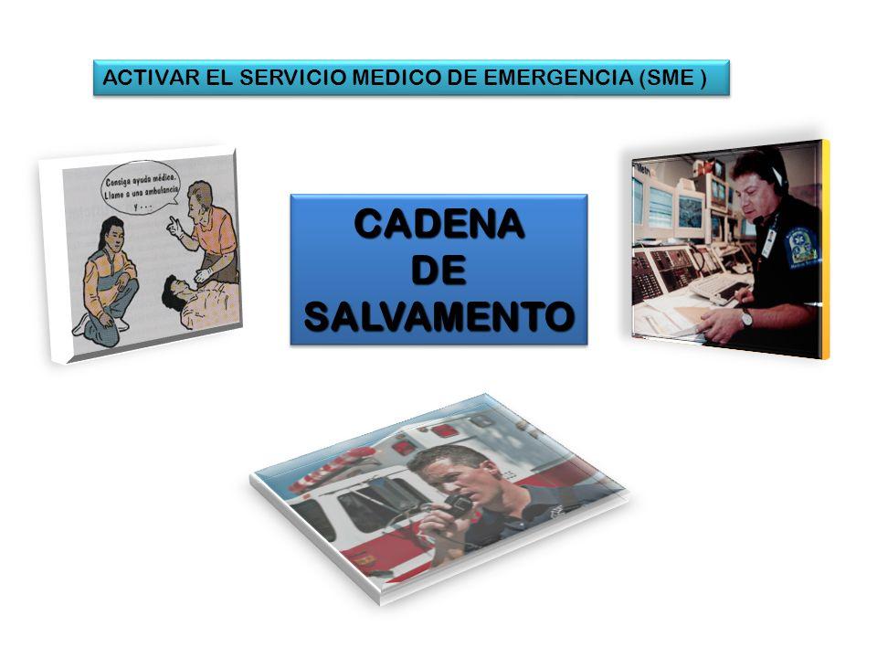 ACTIVAR EL SERVICIO MEDICO DE EMERGENCIA (SME )