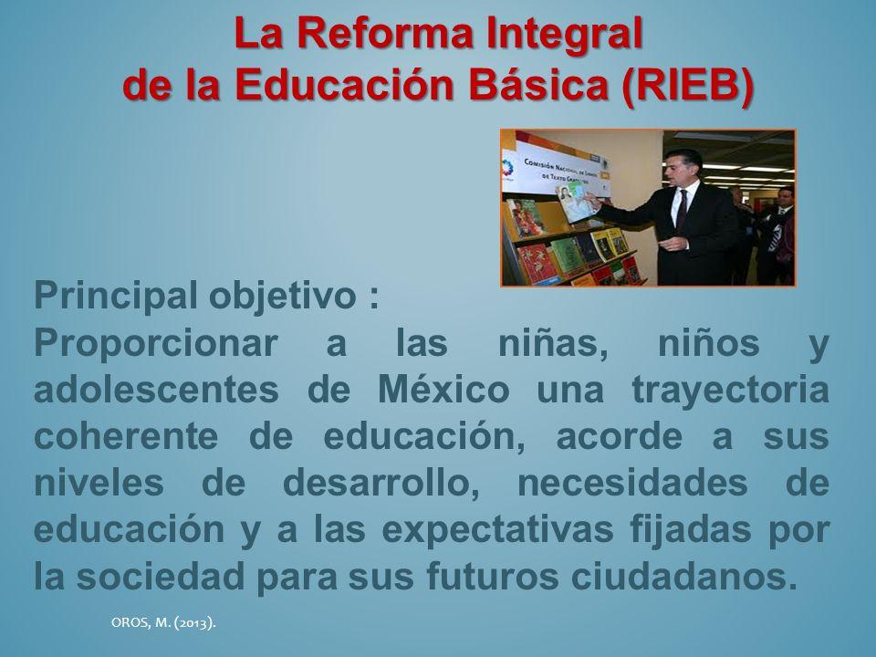 de la Educación Básica (RIEB)