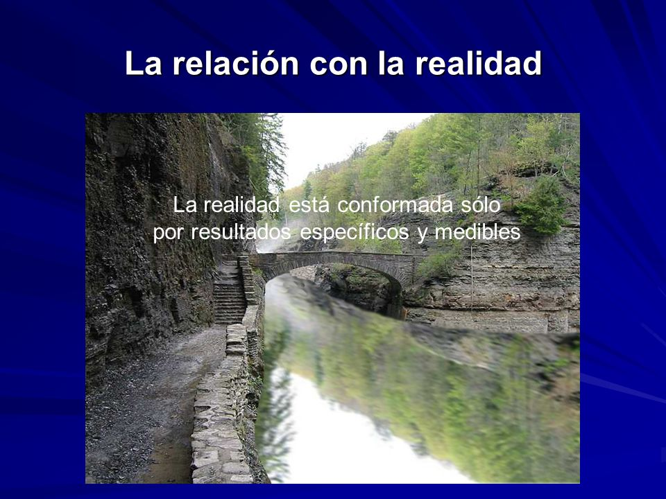 La relación con la realidad