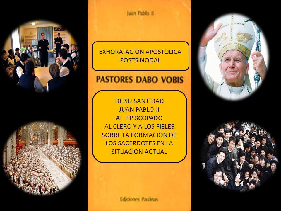 EXHORATACION APOSTOLICA POSTSINODAL