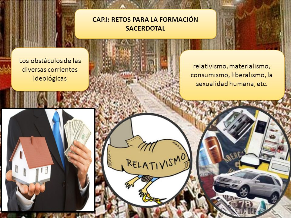 CAP.I: RETOS PARA LA FORMACIÓN SACERDOTAL