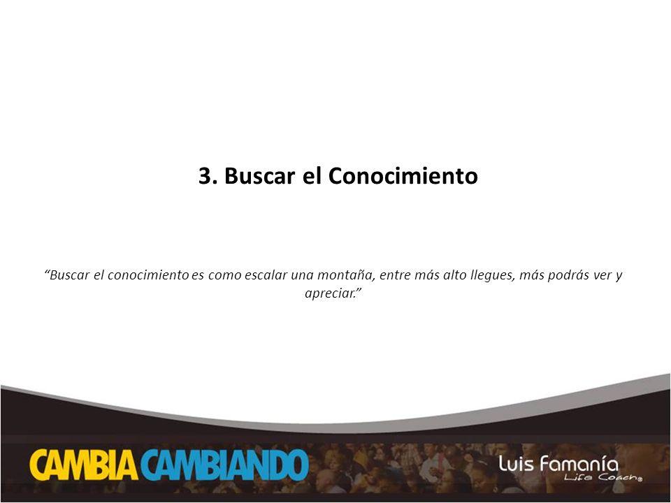 3. Buscar el Conocimiento