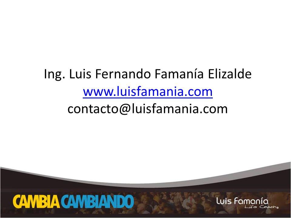 Ing. Luis Fernando Famanía Elizalde