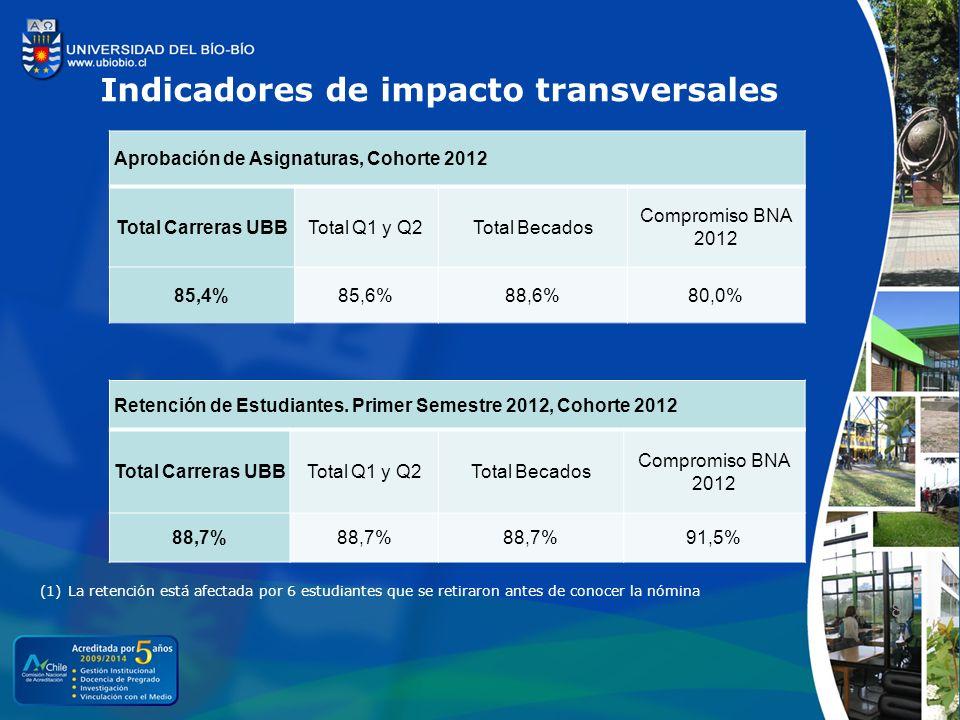 Indicadores de impacto transversales