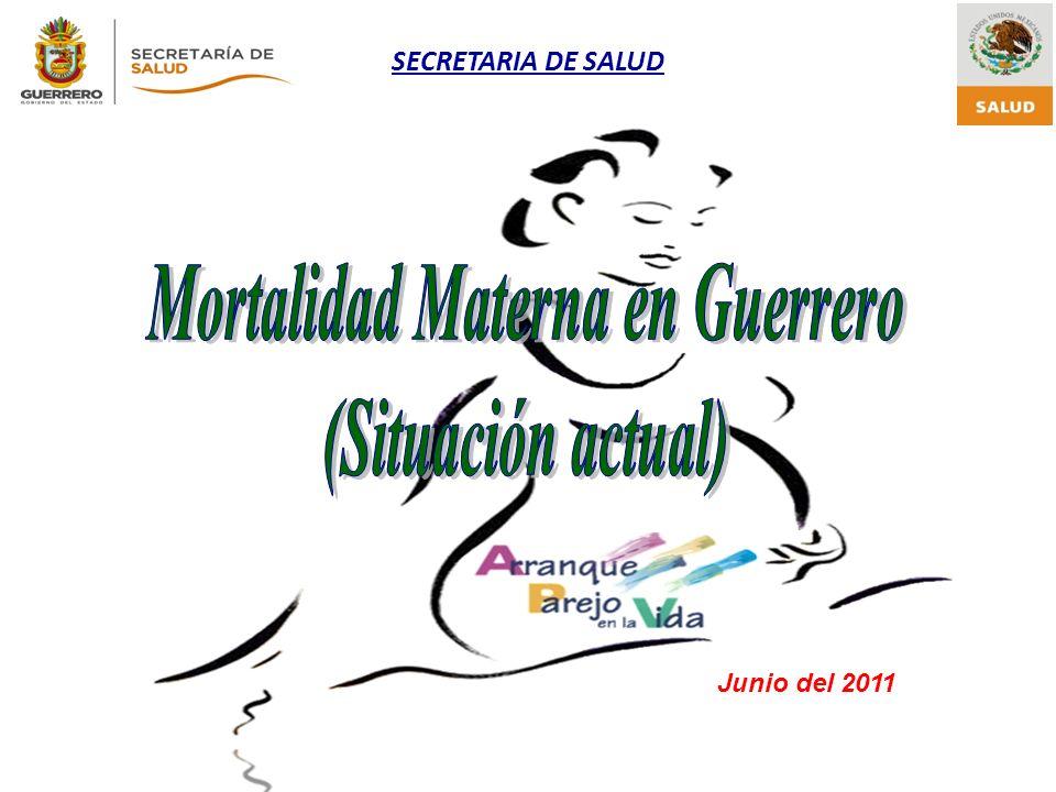 Mortalidad Materna en Guerrero