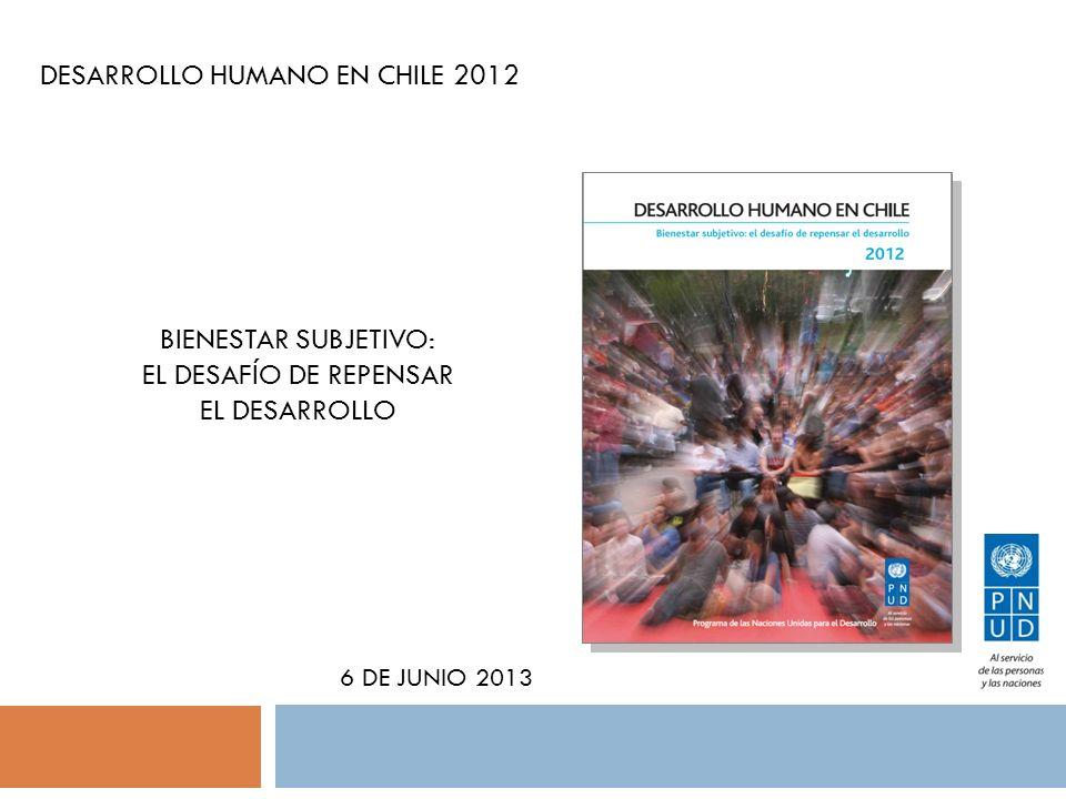DESARROLLO HUMANO EN CHILE 2012