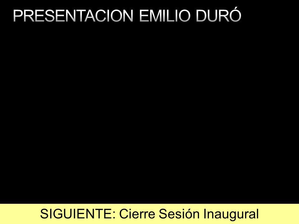 PRESENTACION EMILIO DURÓ