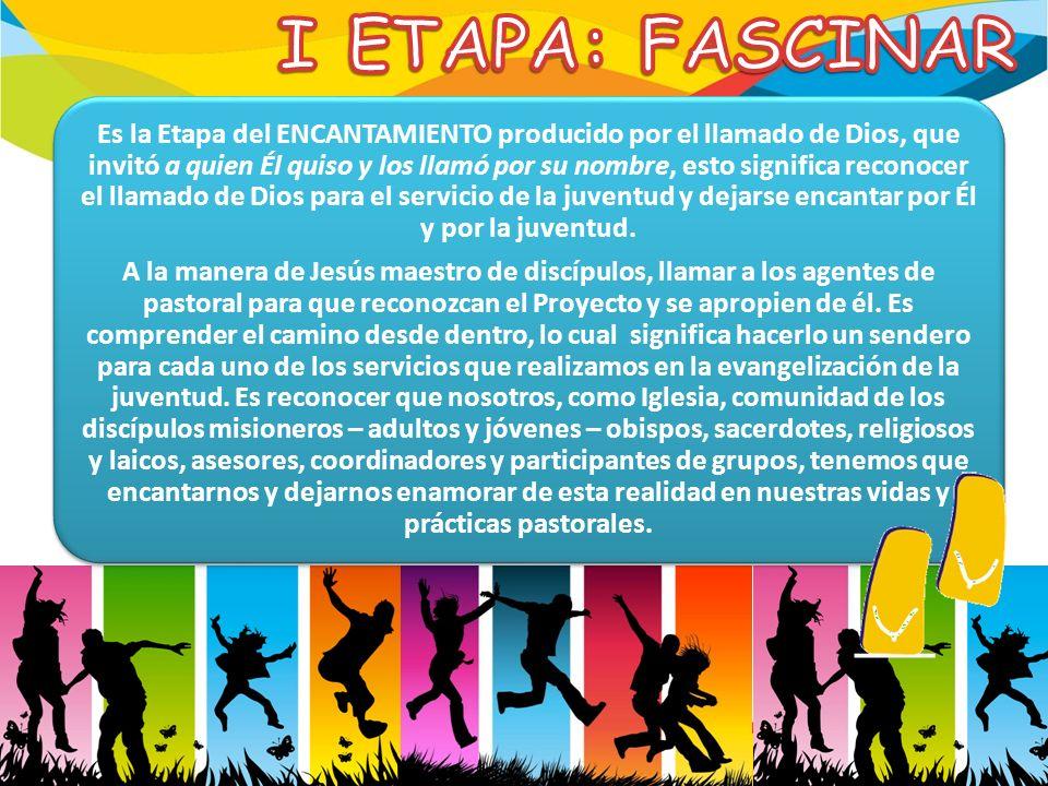 I ETAPA: FASCINAR