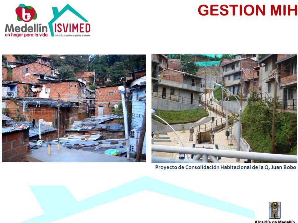 GESTION MIH Proyecto de Consolidación Habitacional de la Q. Juan Bobo