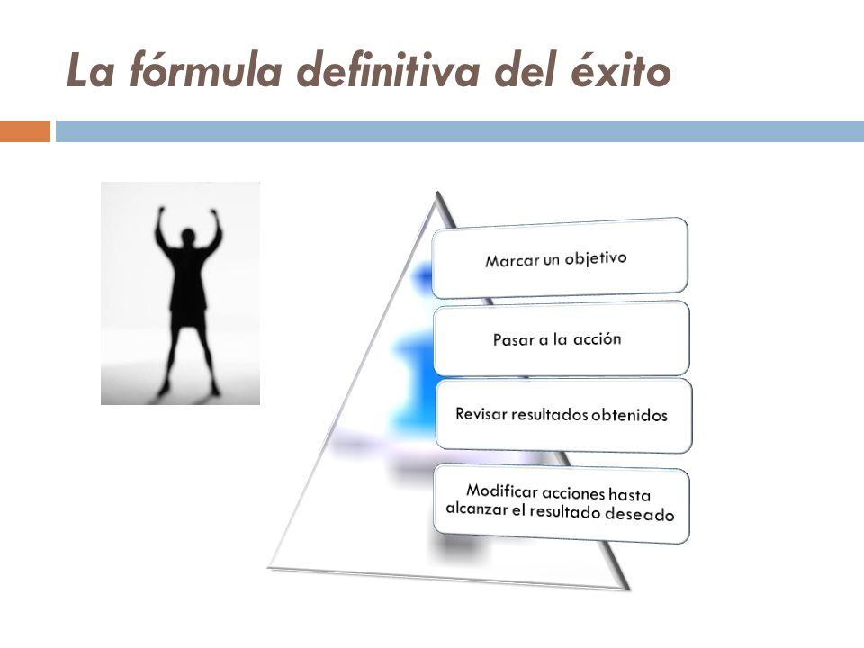 La fórmula definitiva del éxito