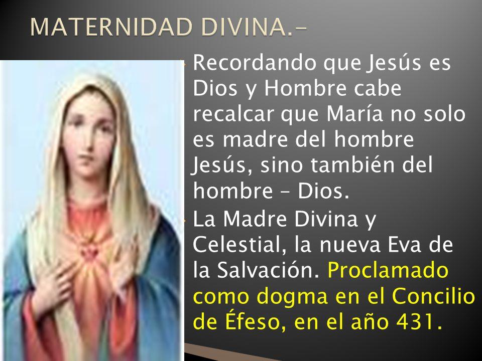 MATERNIDAD DIVINA.-