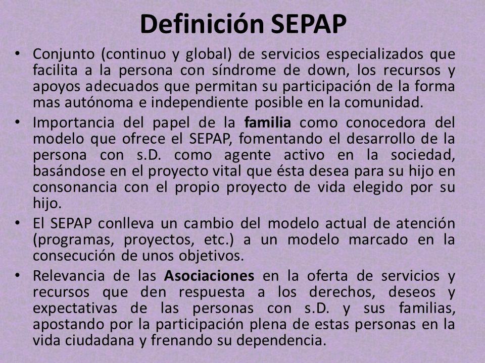 Definición SEPAP