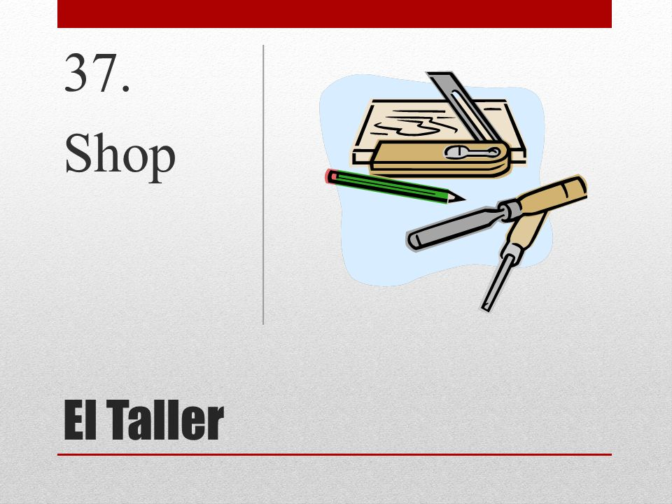 37. Shop El Taller
