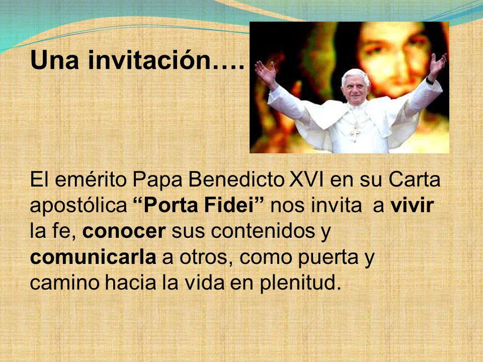 Una invitación….