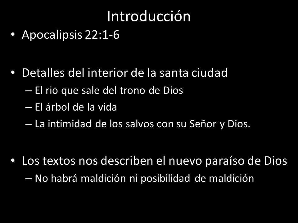 Introducción Apocalipsis 22:1-6