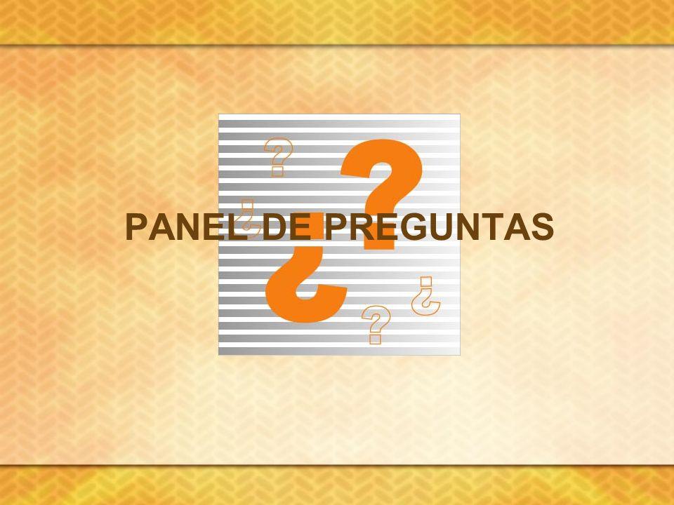 Panel de preguntas
