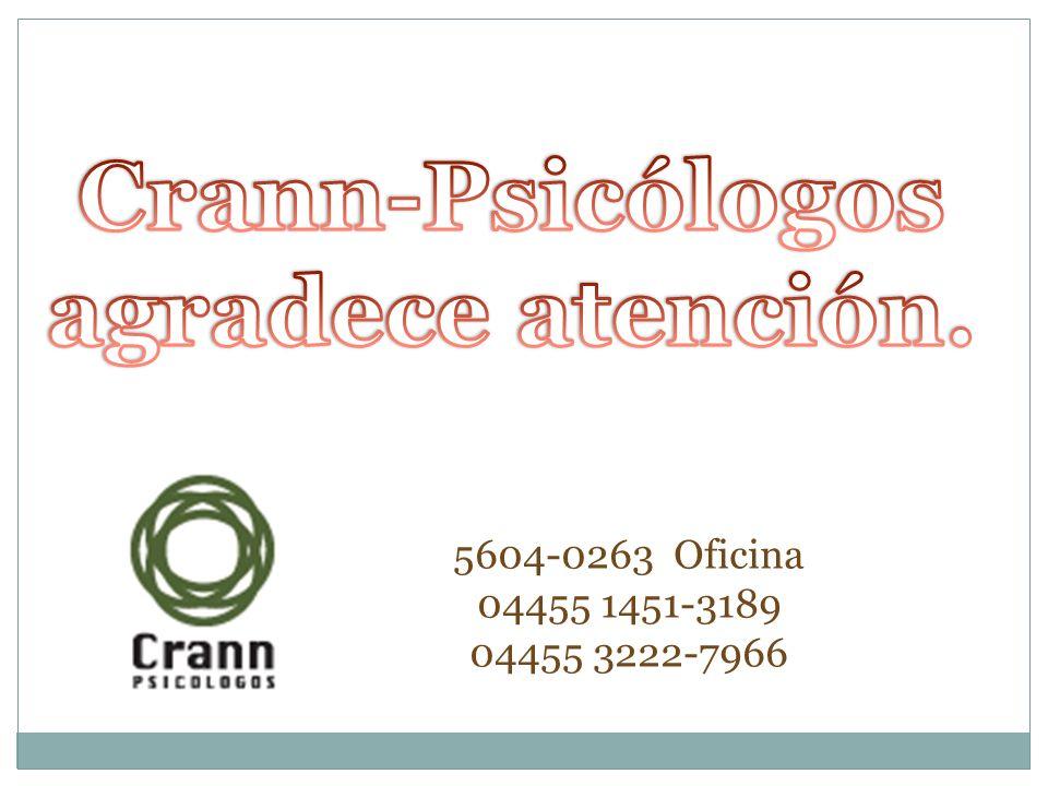 Crann-Psicólogos agradece atención.
