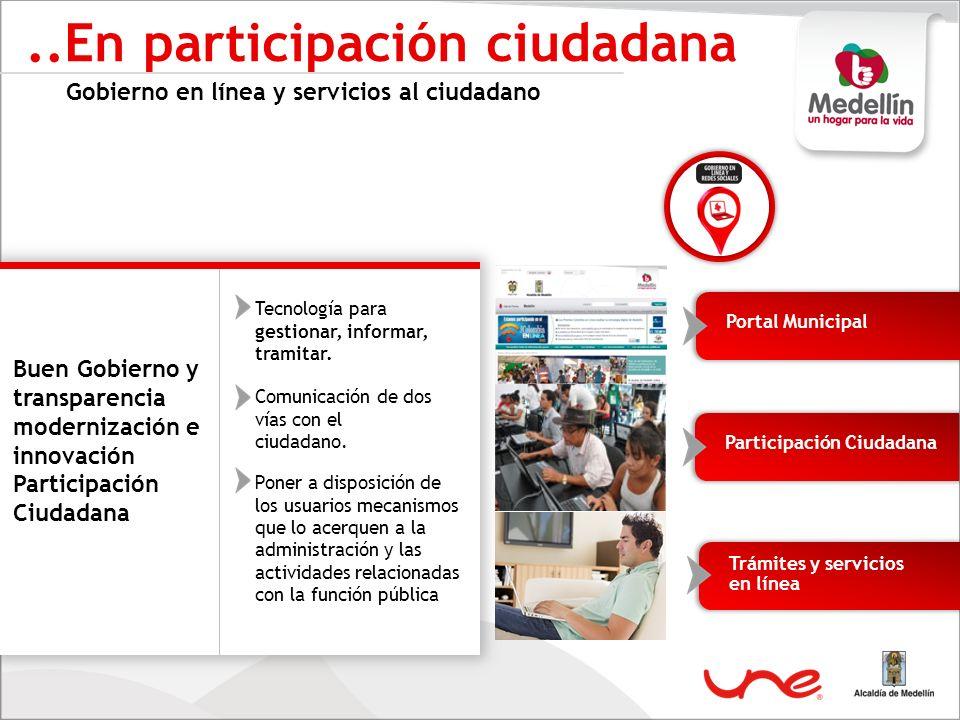 ..En participación ciudadana