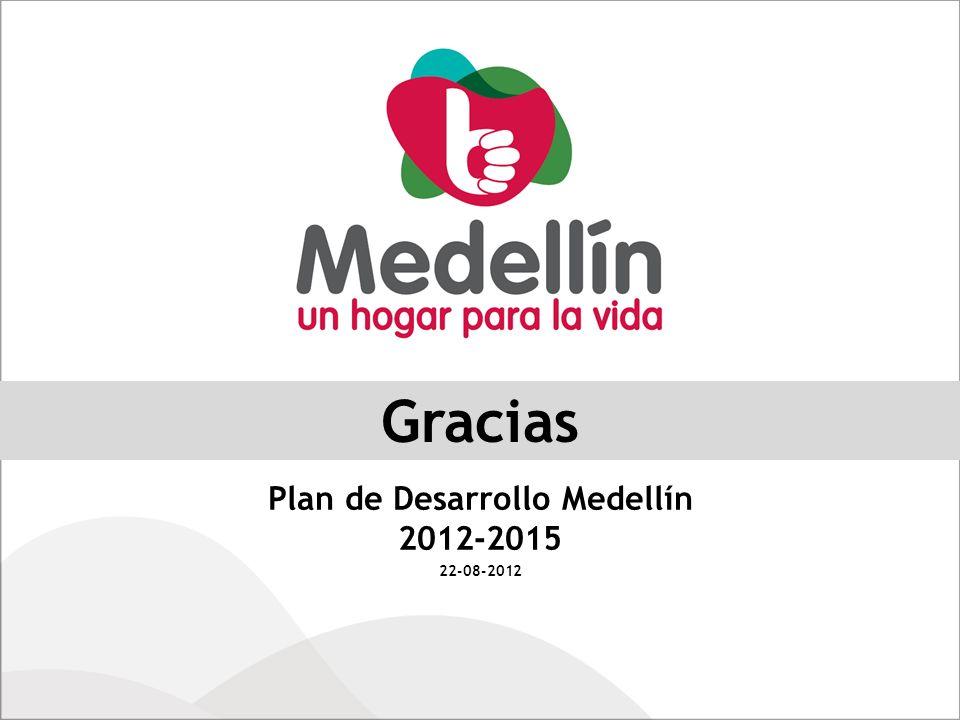 Plan de Desarrollo Medellín 2012-2015 22-08-2012