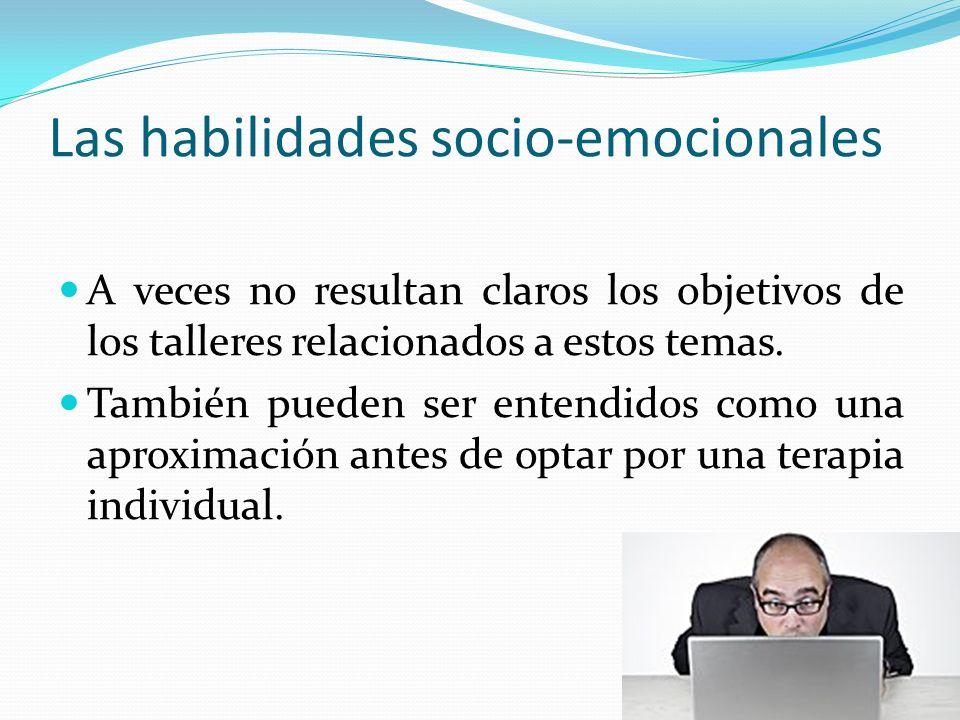 Las habilidades socio-emocionales