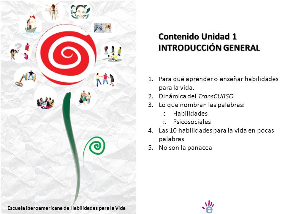 Contenido Unidad 1 INTRODUCCIÓN GENERAL