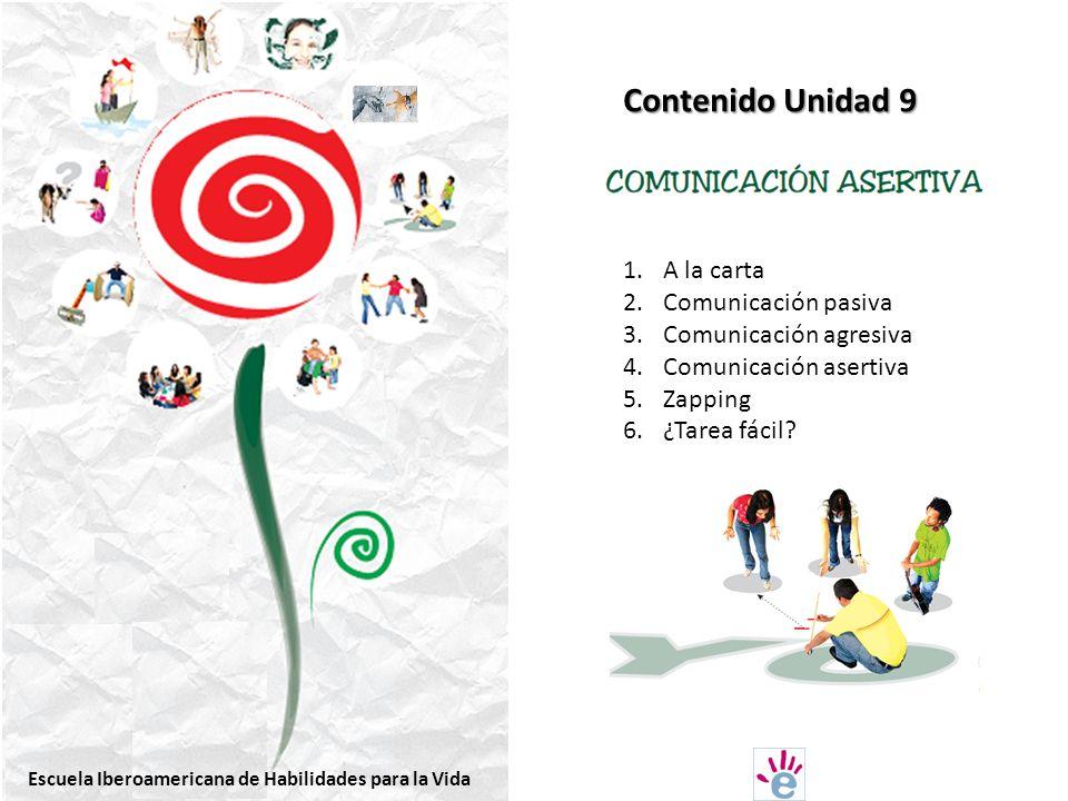 Contenido Unidad 9 A la carta Comunicación pasiva