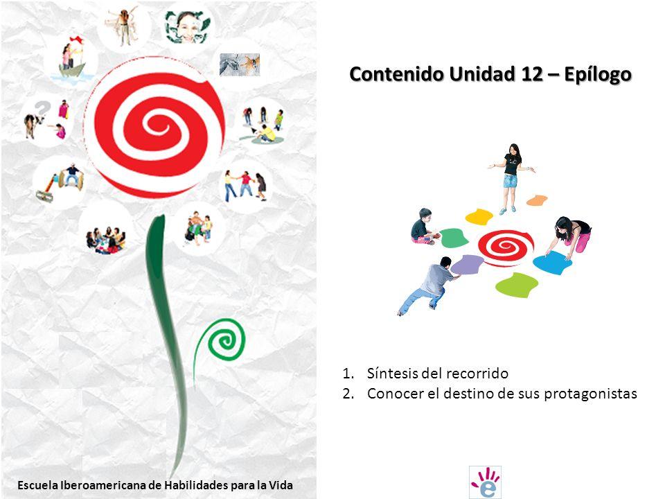 Contenido Unidad 12 – Epílogo