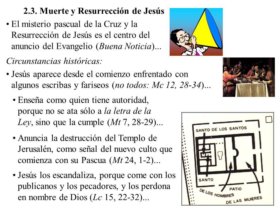 2.3. Muerte y Resurrección de Jesús