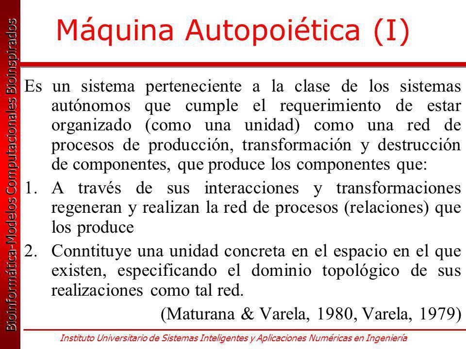 Máquina Autopoiética (I)