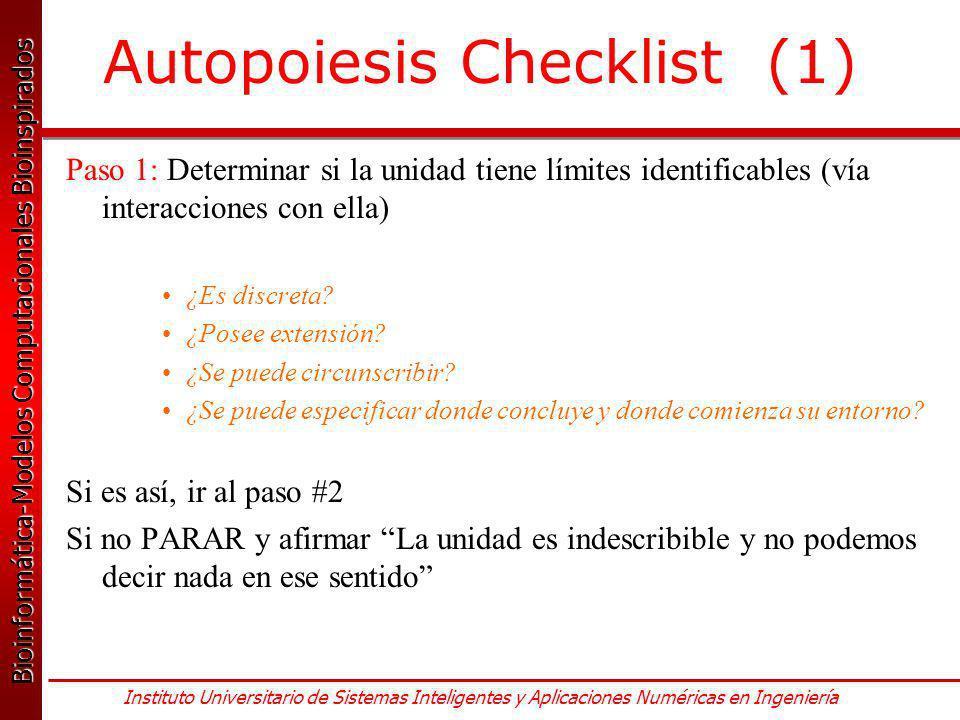 Autopoiesis Checklist (1)