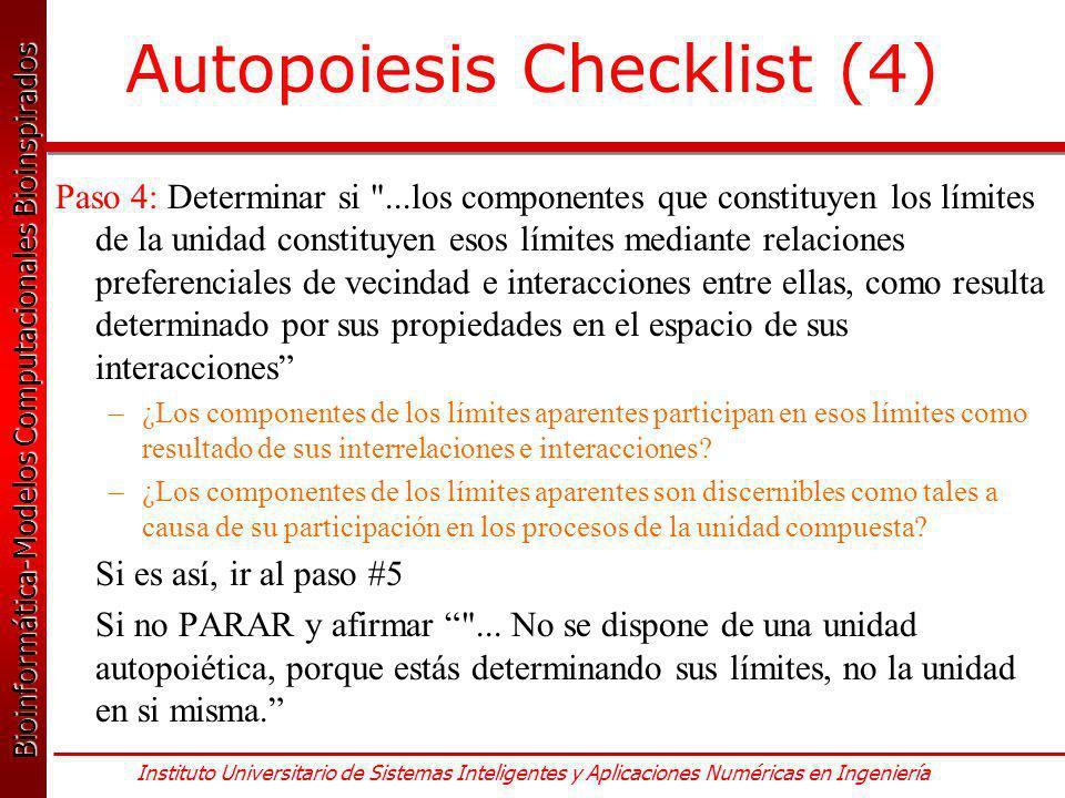 Autopoiesis Checklist (4)