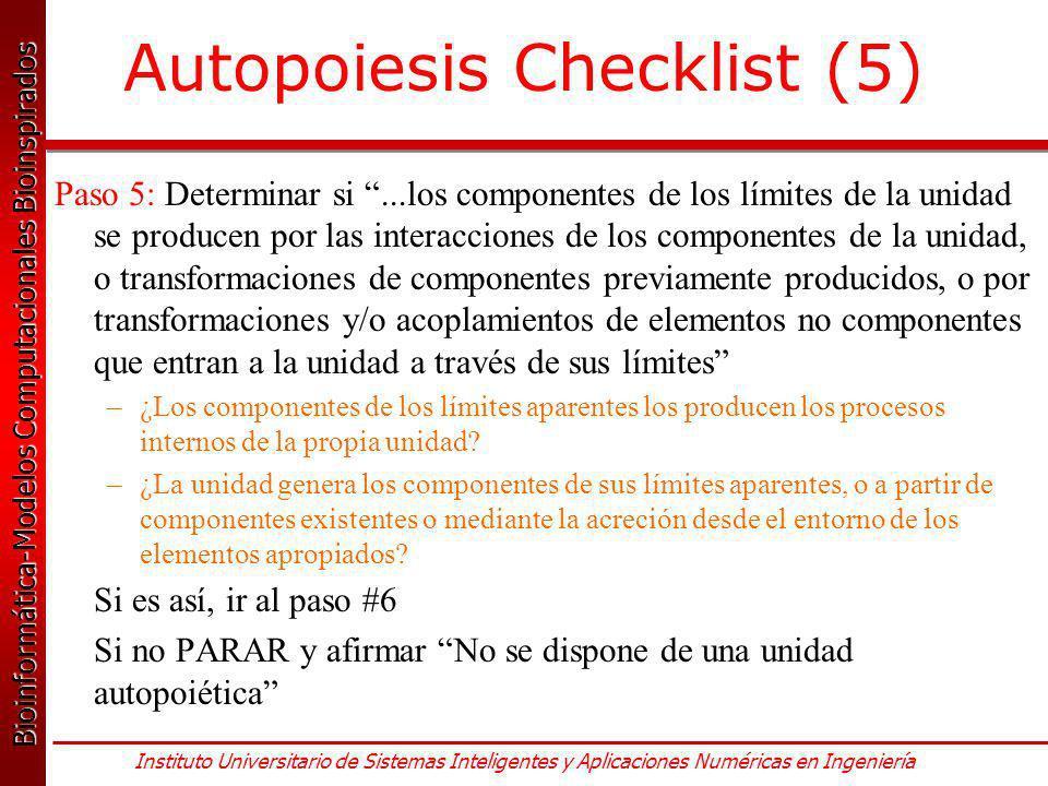 Autopoiesis Checklist (5)