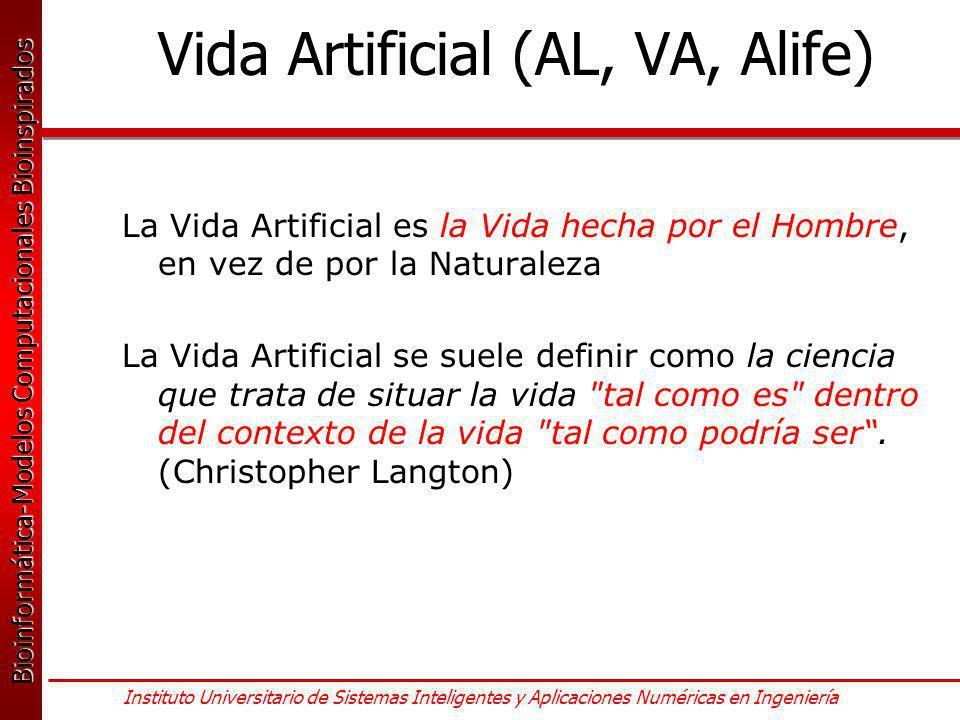 Vida Artificial (AL, VA, Alife)