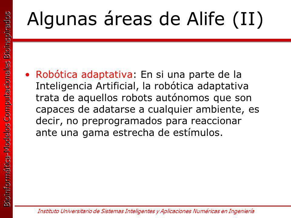 Algunas áreas de Alife (II)