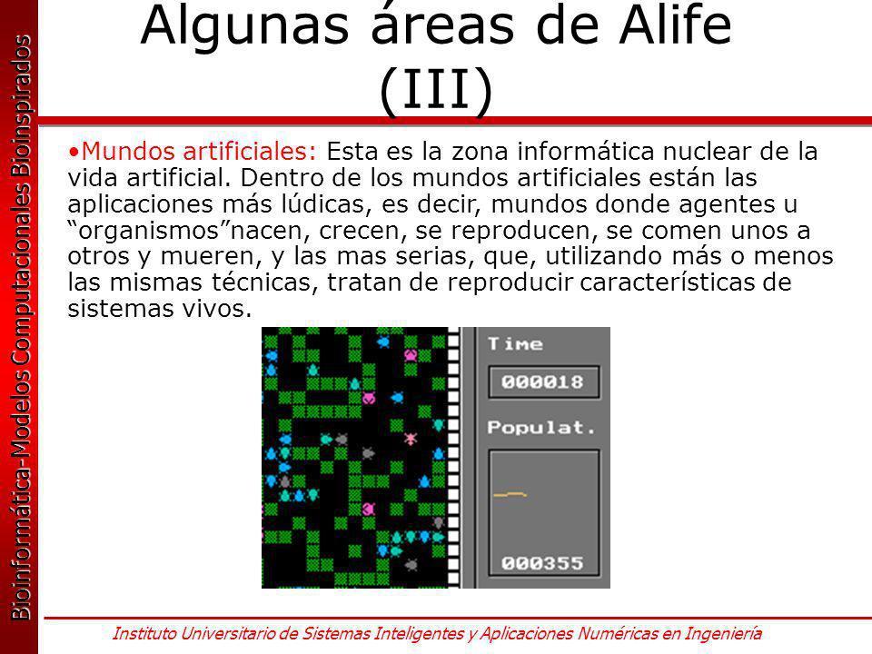 Algunas áreas de Alife (III)