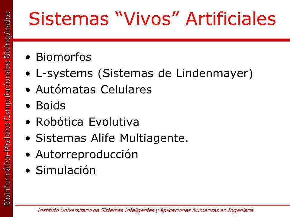 Sistemas Vivos Artificiales