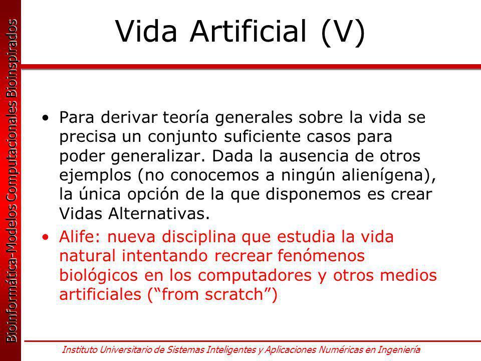 Vida Artificial (V)