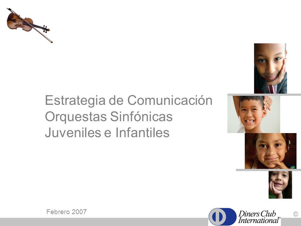 Estrategia de Comunicación Orquestas Sinfónicas Juveniles e Infantiles