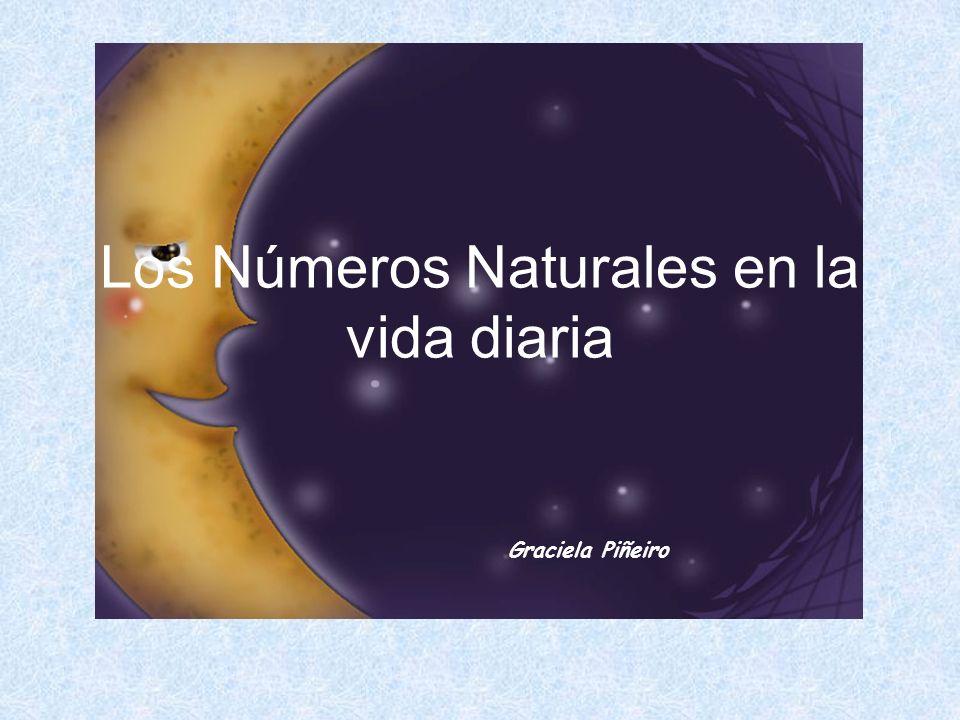 Los Números Naturales en la vida diaria