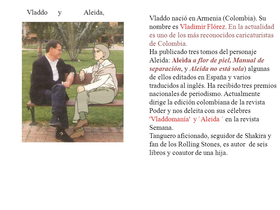 Vladdo y Aleida,